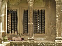 Kambodschanischer Tempel Lizenzfreie Stockfotos