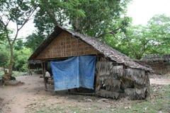 Kambodschanisches Landhaus Lizenzfreie Stockbilder