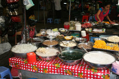 Kambodschanisches Restaurant Stockfoto