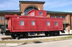 kambuza czerwieni pociąg Obrazy Stock