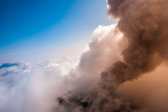 Kamchatka de cima de Fotos de Stock