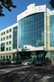 Kamchatka filial av Sberbank av Ryssland i Petropavlovsk arkivfoto