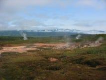 Kamchatka krajobraz Zdjęcia Royalty Free