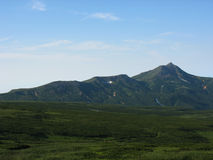 Kamchatka krajobraz Zdjęcie Royalty Free