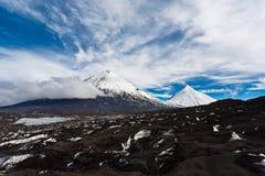 Kamchatka landscape. Royalty Free Stock Photos
