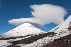 Kamchatka landscape. Royalty Free Stock Image