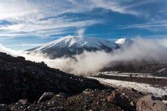 Kamchatka landscape. Royalty Free Stock Photography