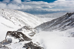 Kamchatka landscape. Royalty Free Stock Photo