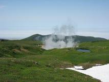 Kamchatka-Landschaft Stockbilder