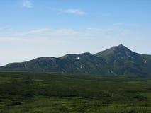 Kamchatka-Landschaft Lizenzfreies Stockfoto