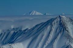 Kamchatka mountains Stock Images