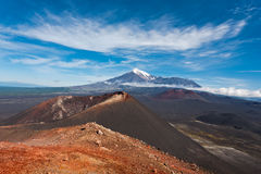 Kamchatka valley. Stock Images