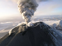 Kamchatka volcano Karymskii Royalty Free Stock Photography