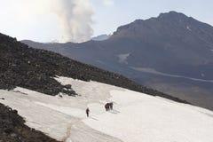 Kamchatka. Vulcão. Imagem de Stock Royalty Free
