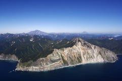 Kamchatka, Vulkanen Stock Fotografie