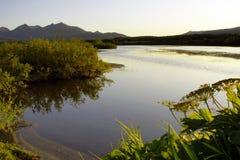 Kamchatkian landscapes. Royalty Free Stock Images