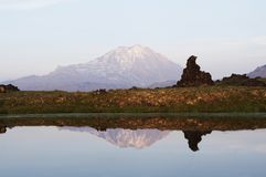 Kamchatkian landscapes Royalty Free Stock Photo