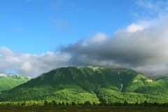 Kamchatkian landscapes Stock Image