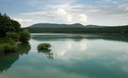 Kamchia dam lake Royalty Free Stock Image