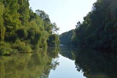 Kamchia flodBulgarien Fotografering för Bildbyråer