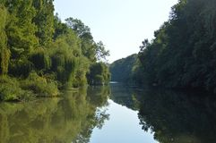 Kamchia river Bulgaria Stock Image