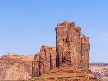 Kameelbutte is een reuzezandsteenvorming in het Monument valle Stock Afbeeldingen