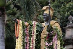 Kamehameha Day国王 免版税库存照片