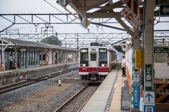 KAMEIDO, TOKYO - JUNE 19: Tobu Kameido line train in Koto Ward, Stock Photography