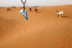 Kamel und Fische Lizenzfreies Stockfoto
