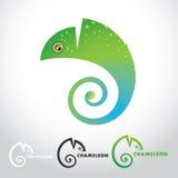 Kameleon royalty-vrije illustratie