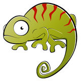 Kameleon ilustracja Obrazy Royalty Free