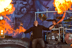Kamelot. On Masters of Rock 2012 Royalty Free Stock Images