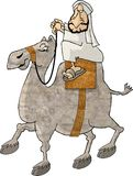 kamelryttare royaltyfri illustrationer