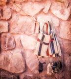 Kamelsadeln hänger lös Royaltyfri Fotografi