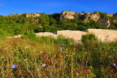 Kamen bryag ancient fortress Bulgaria stock image
