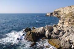 Kamen bryag rocky coast, Bulgaria Stock Image
