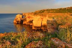 Kamen Bryag Stone Coast Bulgaria Stock Photos