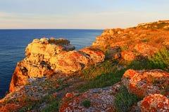Kamen Bryag Stone Coast Bulgaria Royalty Free Stock Images