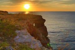 Kamen Bryag Stone Coast sunrise Bulgaria Royalty Free Stock Photo