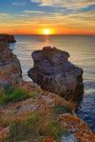 Kamen Bryag sunrise Bulgaria Stock Photos