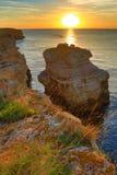 Kamen Bryag sunrise Bulgaria Stock Photo