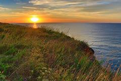Kamen Bryag sunrise Bulgaria Stock Photography