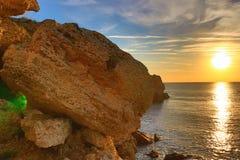 Kamen Bryag sunrise Bulgaria Stock Image