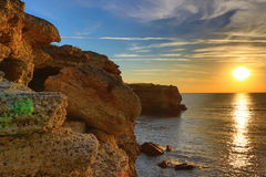 Kamen Bryag sunrise Bulgaria Royalty Free Stock Image