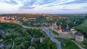 Kamenets Podolskaya堡垒 免版税图库摄影