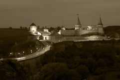 Kamenets-Podolsky Fortress Royalty Free Stock Photos