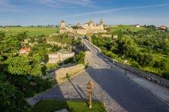 Kamenetz波多利斯克堡垒 免版税图库摄影