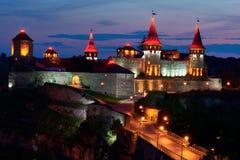Kamenetz波多利斯克堡垒 免版税库存照片
