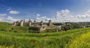 Kamenetz-Podolsk city Royalty Free Stock Photography