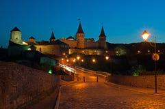 Kamenetz-Podolsk fortress. Khmelnytskyi region Kamenetz-Podolsk fortress Royalty Free Stock Photography